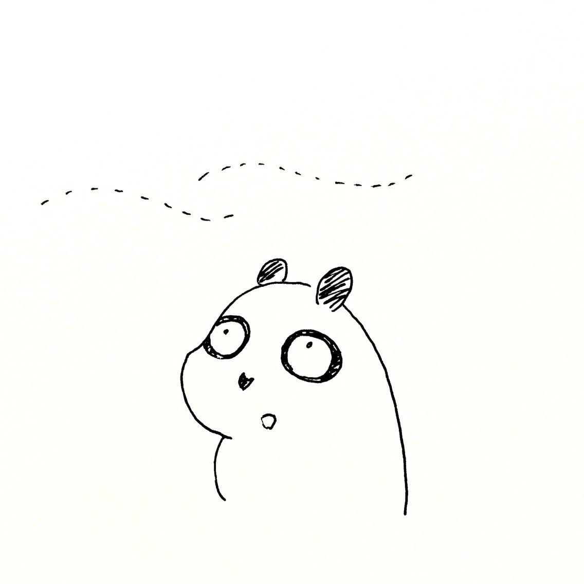 【一日一大熊猫】2016.8.7 立秋。 秋という文字が入ってるのに真夏日なんだけど、 フッと「夏の終わり?」と感じる瞬間がある時期だよね。 #パンダ #立秋 #二十四節気
