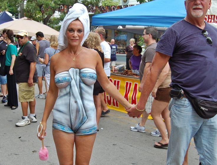 Girls takin of bikini