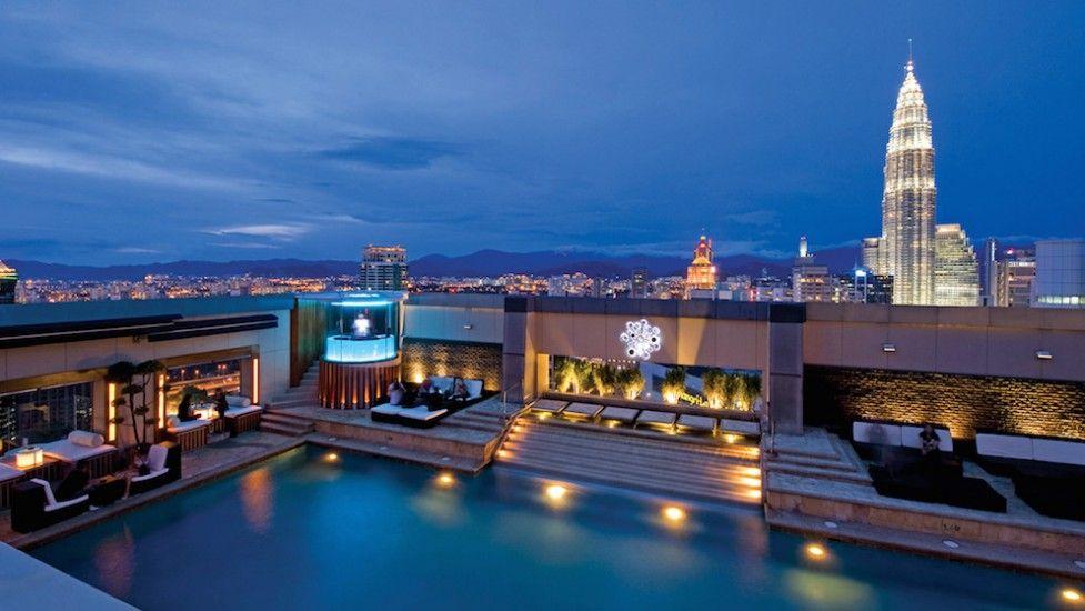 Luna Bar Kl Rooftop Venue Vmo Best Rooftop Bars Rooftop Pool Dream Pools