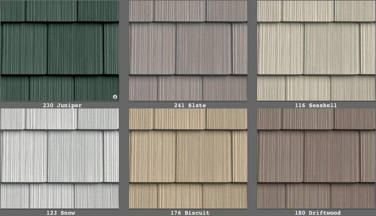 Vinyl Siding Perfection Shingle Like Real Cedar 34 Colors