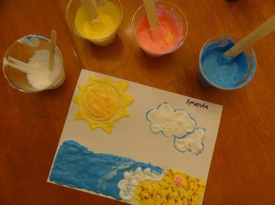 {Homemade!} Puffy Paint