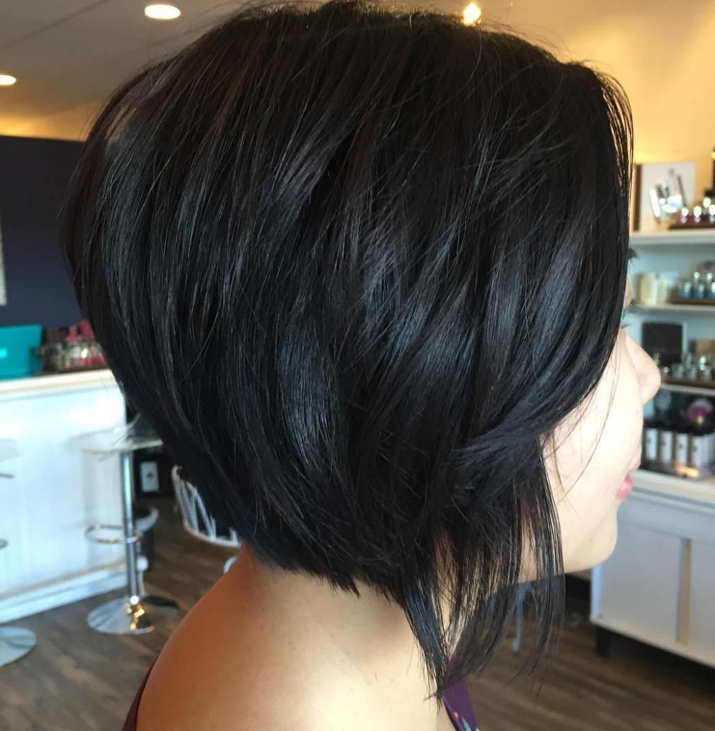 The full stack hottest stacked haircuts black bob bobs and