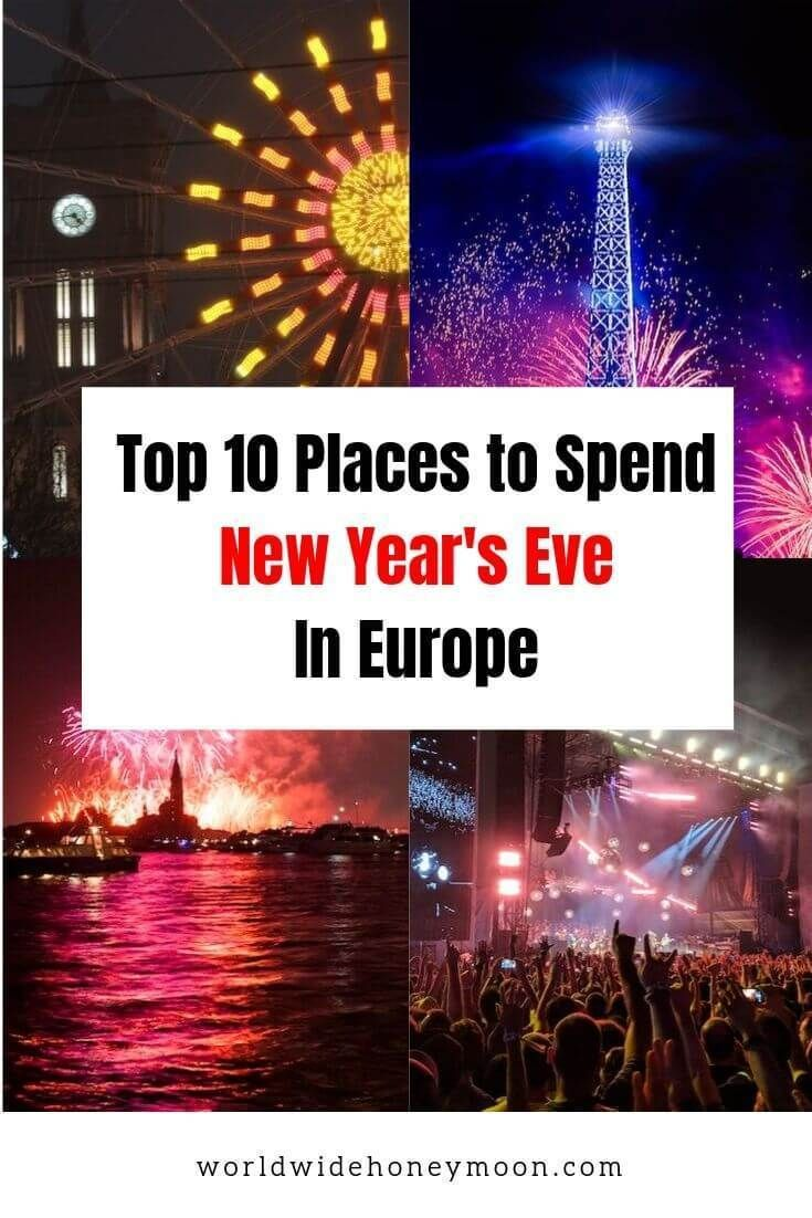 10 Best Places to Spend New Year's in Europe Europe