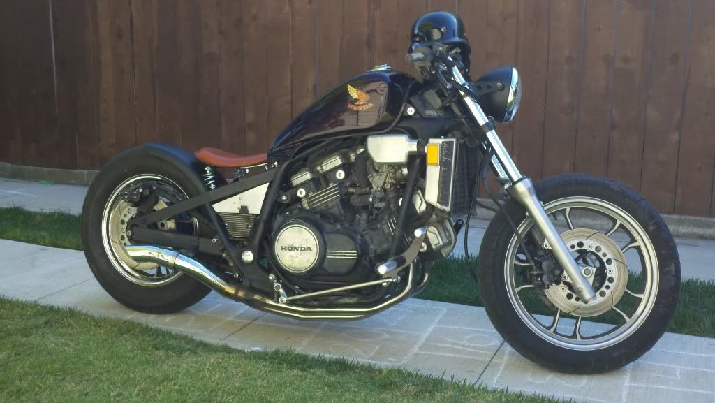 85 Magna Bobber Build Completed