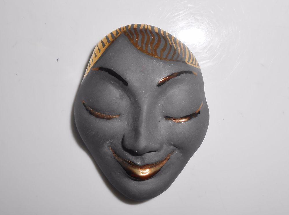 Porcelain Head Brooch Pin Lady Woman Gold Gilt 1984 Signed Ciupka #ciupka  Brooch pin, Brooch, Gilt
