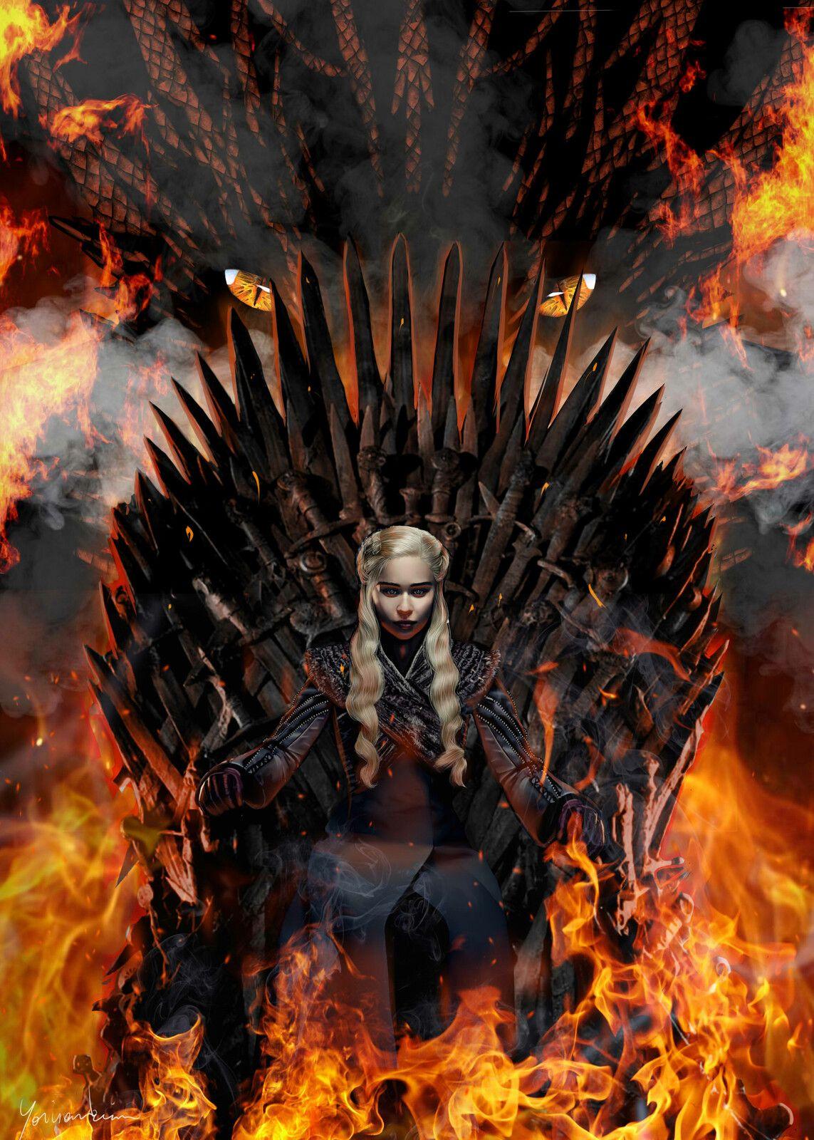 Game of thrones Daenerys Targaryen, Kim Franck