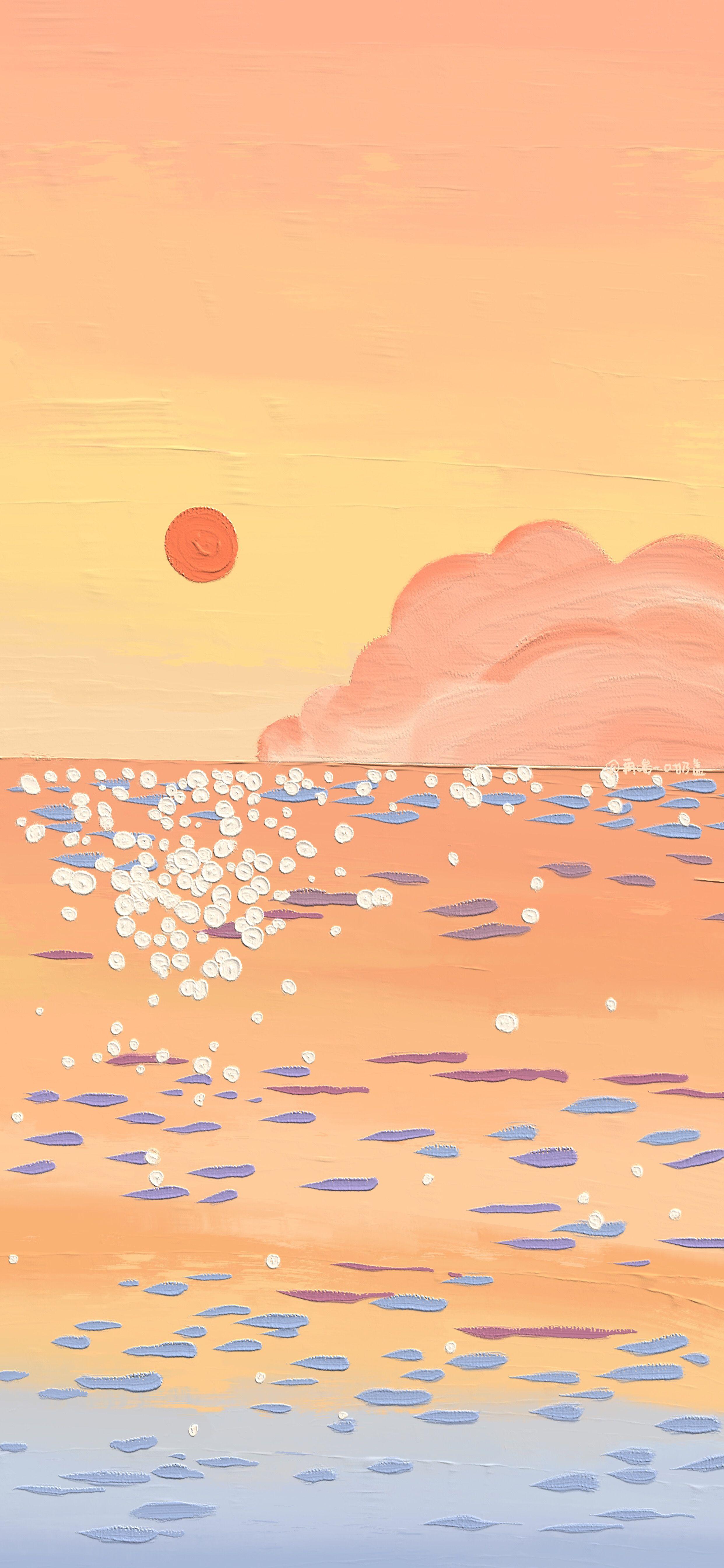 Pin Oleh Di Layout Abstrak Lukisan Seni Seni Gif Aesthetic wallpaper gif phone