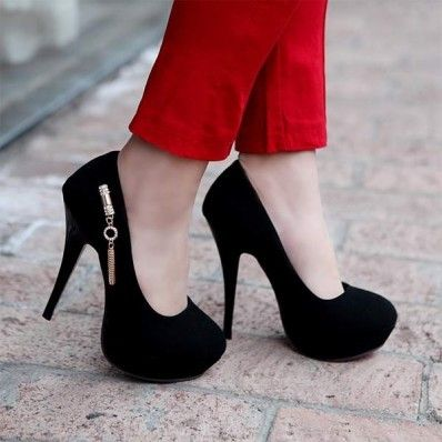 1000  images about Shoes on Pinterest | Black stilettos, High heel ...