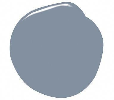 bm oxford gray (blue-gray) for kitchen island cabinets ...