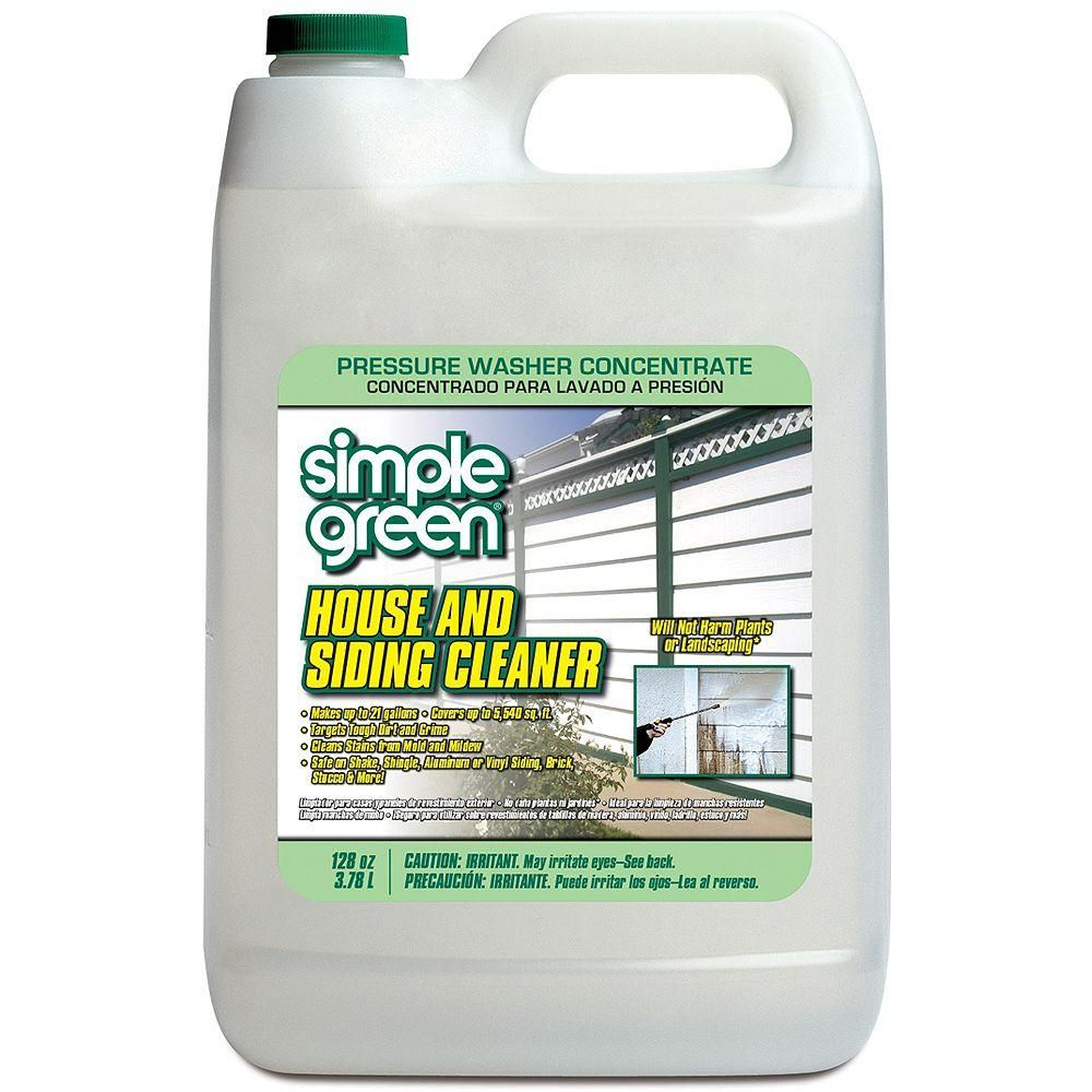oz house and siding cleaner pressure washer concentrate