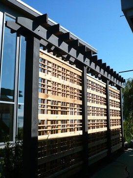 privacy screens for decks | Cordova Bay Privacy Screen contemporary ...