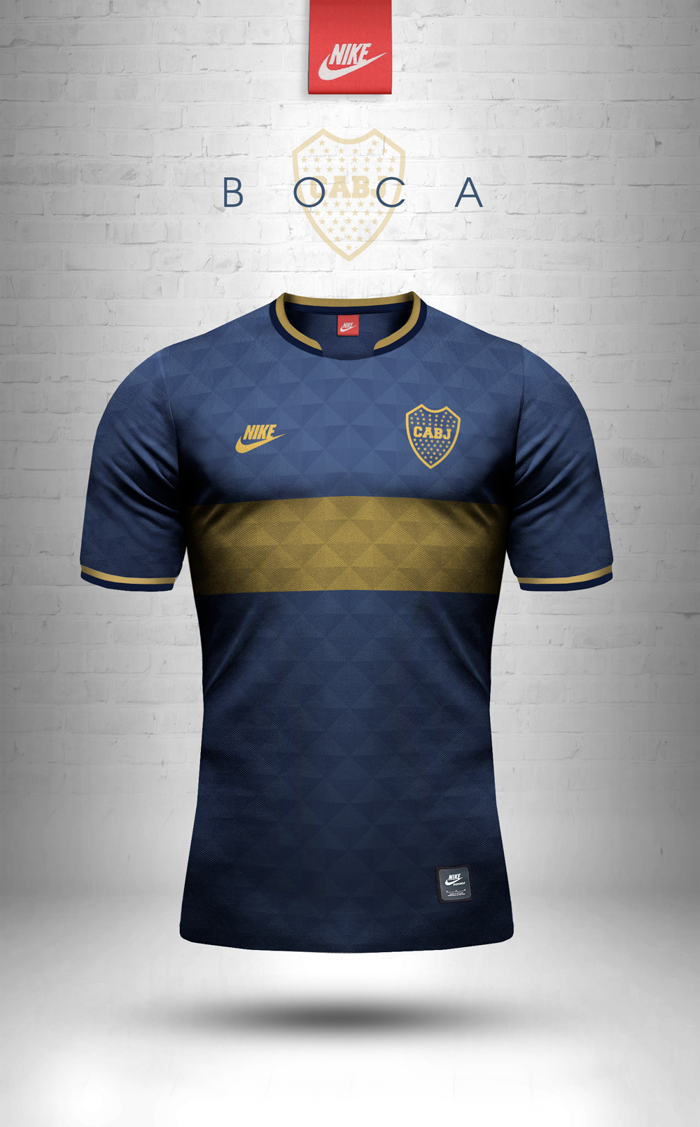 Adidas Originals and Nike Sportswear jersey design concepts