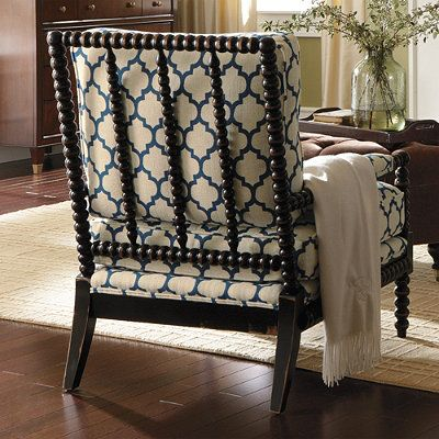 Custom Bobbin Chair  Great Bedroom Chair Or Living Room Accent Chair Hrib