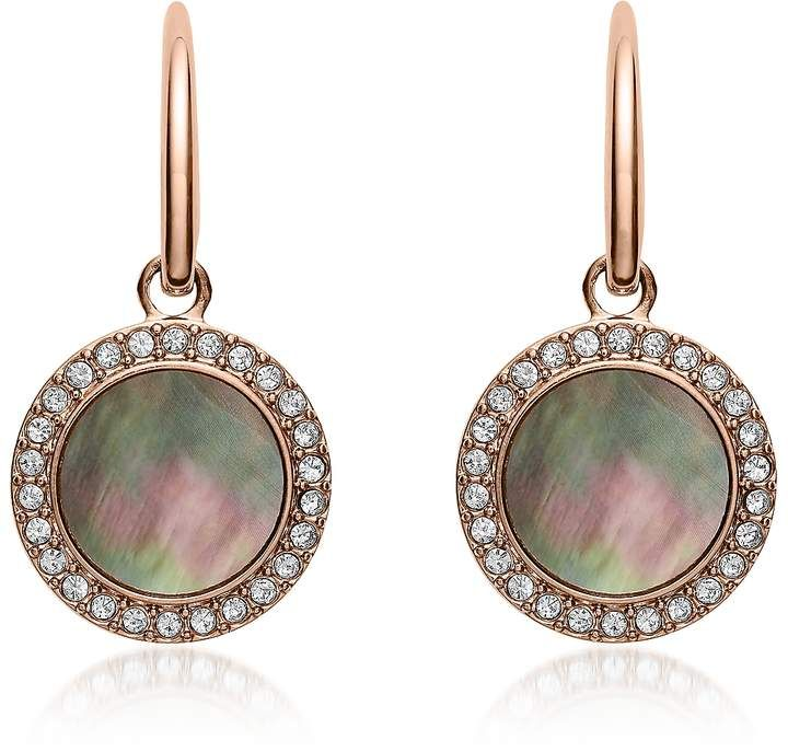 aae1f480b05 Fossil Gray Mother of Pearl Glitz Drop Earrings in 2019 | Products ...