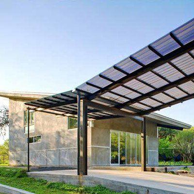 Modern Contemporary Construction Rocks Architecture Small House Exteriors Carport Designs