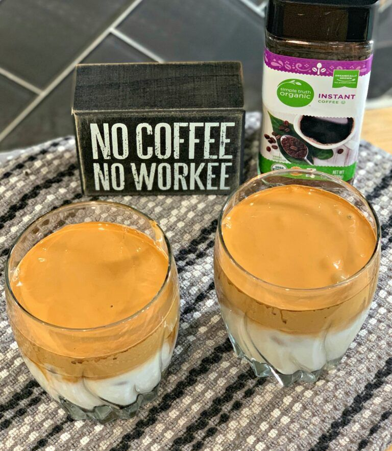 Incredible whipped coffee the cookin chicks recipe
