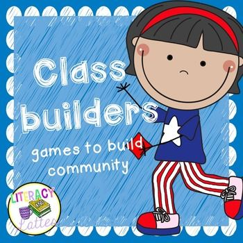 Enjoy 6 games to build community and promote team work in the classroom!The…