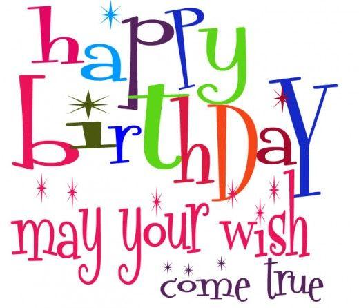 12 free very cute birthday clipart for facebook birthday rh pinterest com Birthday Celebration Clip Art Free Birthday Clip Art Free Downloads