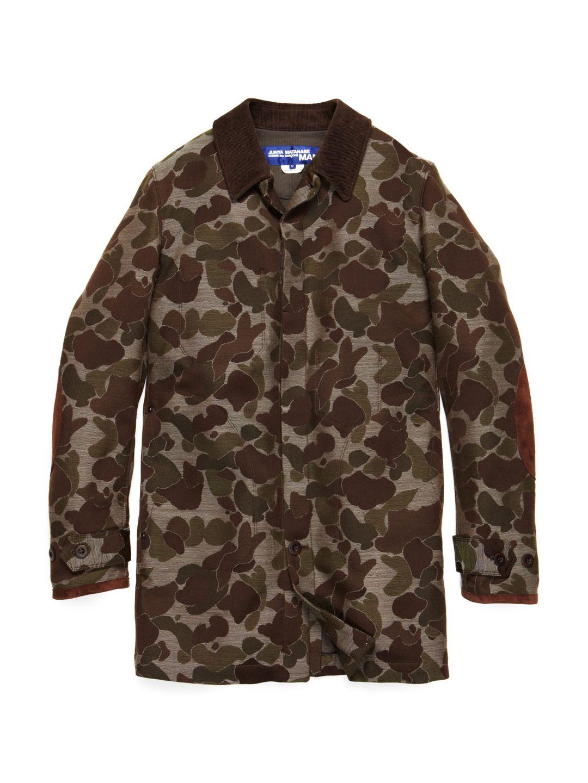 JUNYA WATANABE  Camouflage Jacquard Top Coat