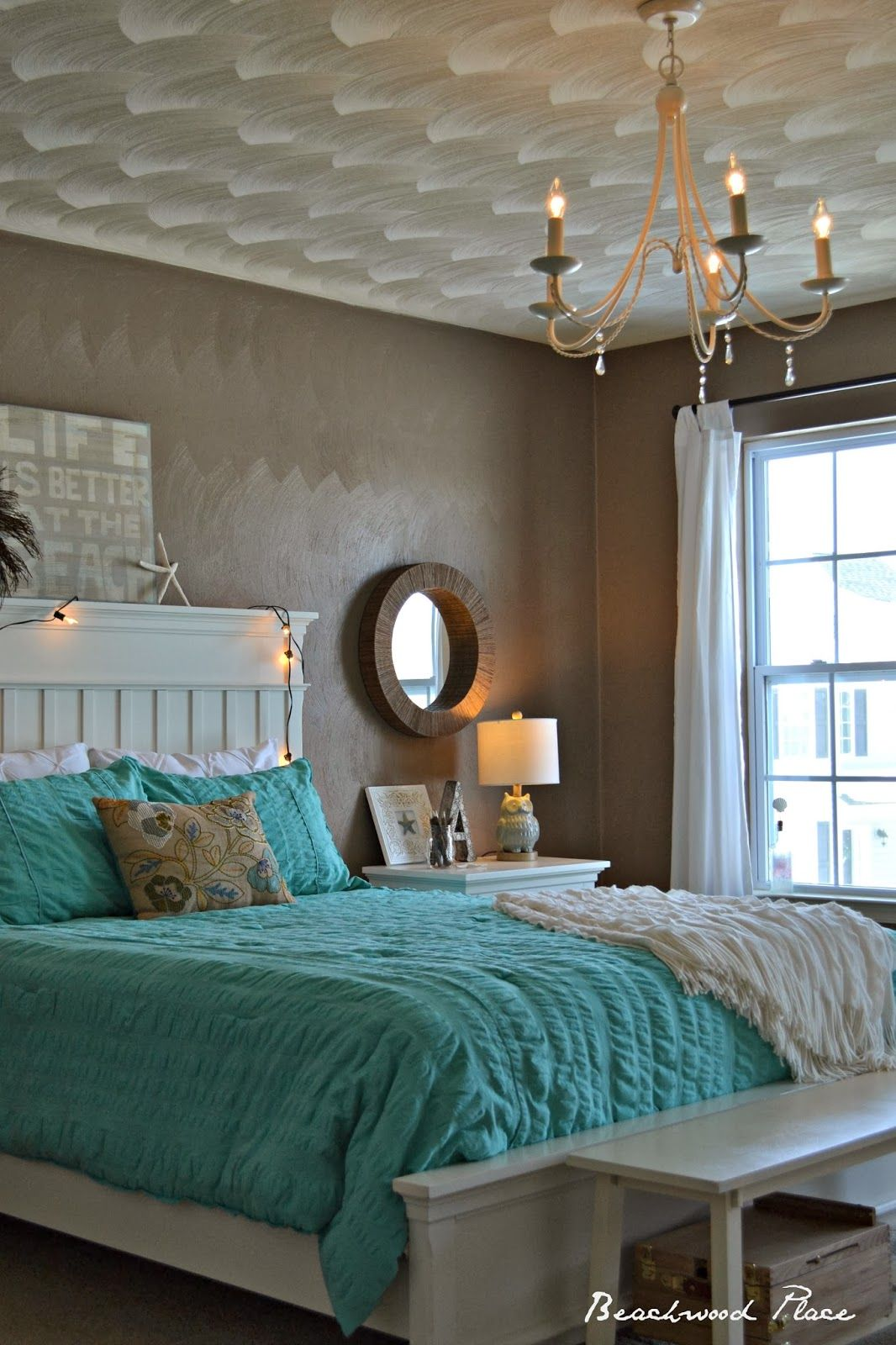 Master bedroom wall decor diy  Beachwood Place Diy crystal Chandelier  Cassidy  Pinterest