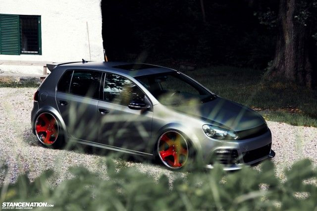 Custom Is The Word Klarby S Unique Golf R Vw Golf Tdi