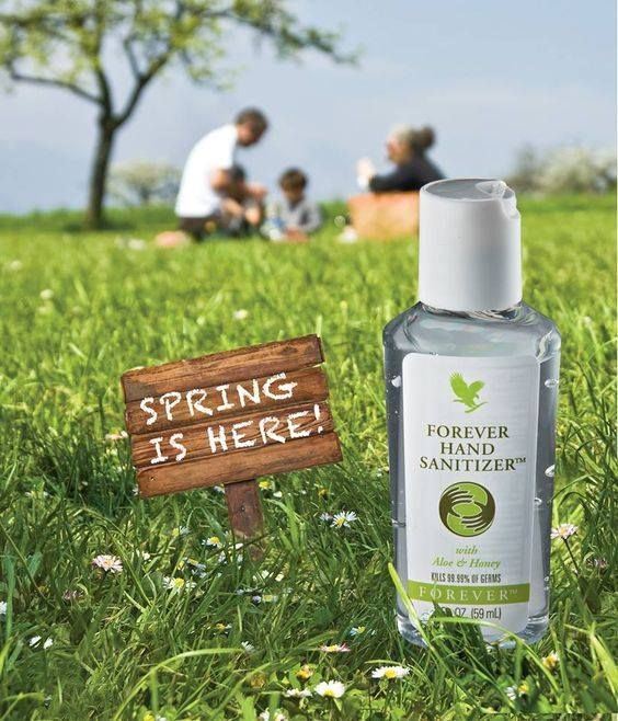 Forever Hand Sanitizer Antibakterialis Alkoholos Kezfertotlenito