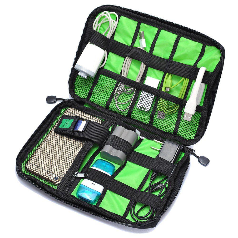 Reisetaschen Datenkabel Praktische Kopfhörer Draht Lagerung Laptop Zubehör Tasche Macht Linie Organizer Elektrische Tasche Flash Disk Fall