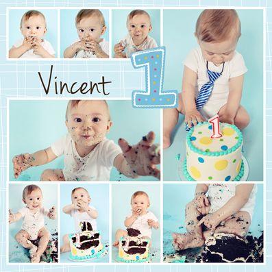Cake Smash Templates Free Birthday Photo Collage Birthday Collage Photo Collage Template