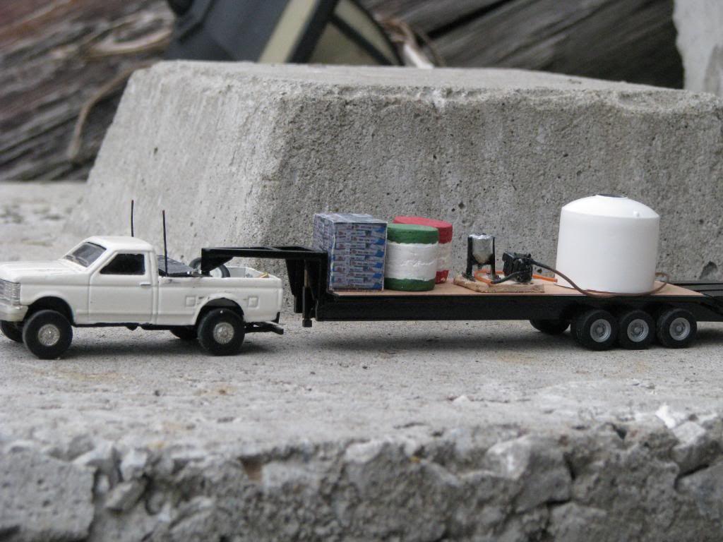 1 64 scale trucks and trailers - Custom 1 64 Gooseneck
