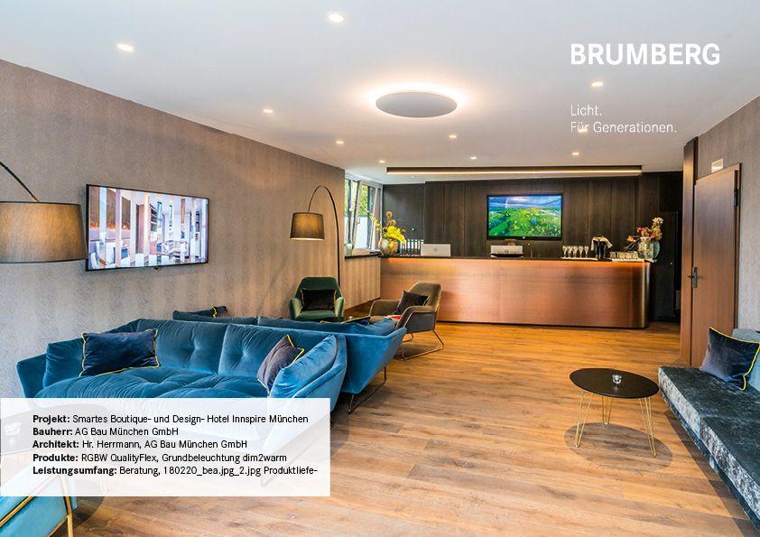 Hotel Innspire Beleuchtungsprojekt Brumberg Hotel Munchen Hotel Gast Hotels