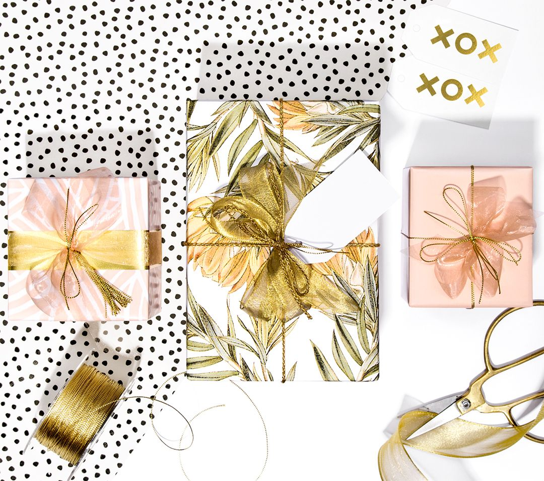 Gift Wrapping, Wraps, Wrapping Paper Rolls