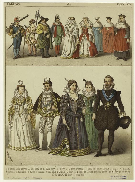 16th century womens clothing