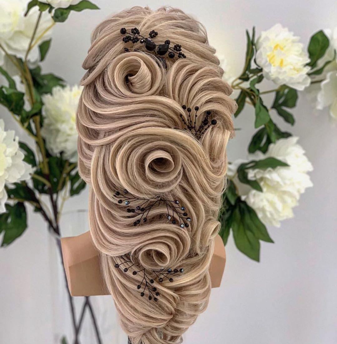 Sac Xeyale Hair Style By Hayala Stilist Xeyale Orxideya Orxideyabeauty Center Unvan Qara Qaraye Beauty Center Instagram Posts Hair Styles