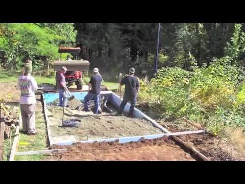 Subterranean Heating And Cooling System Shcs Time Lapse Of