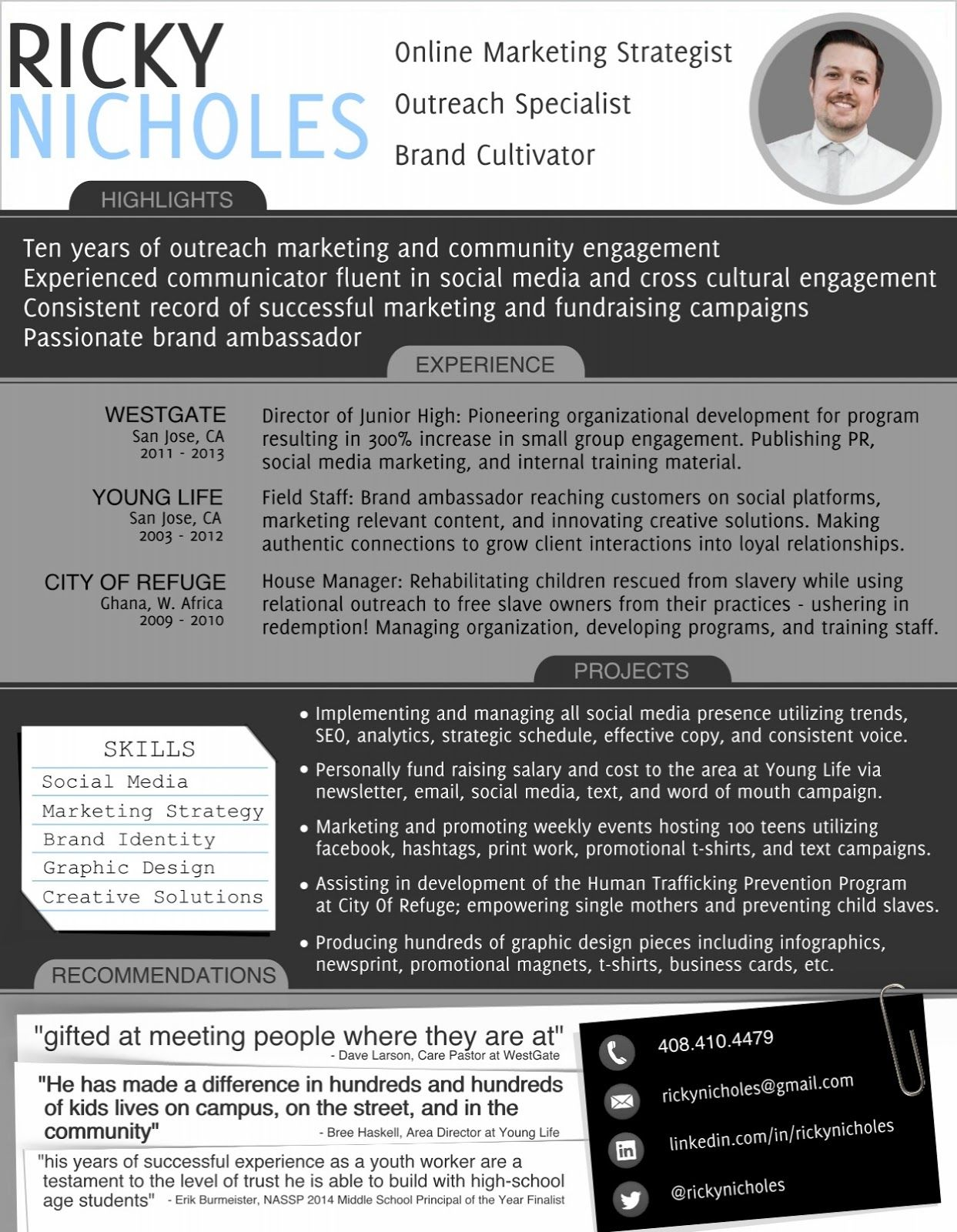 infographic resume for IT - Google Search | Infographic Resumes ...