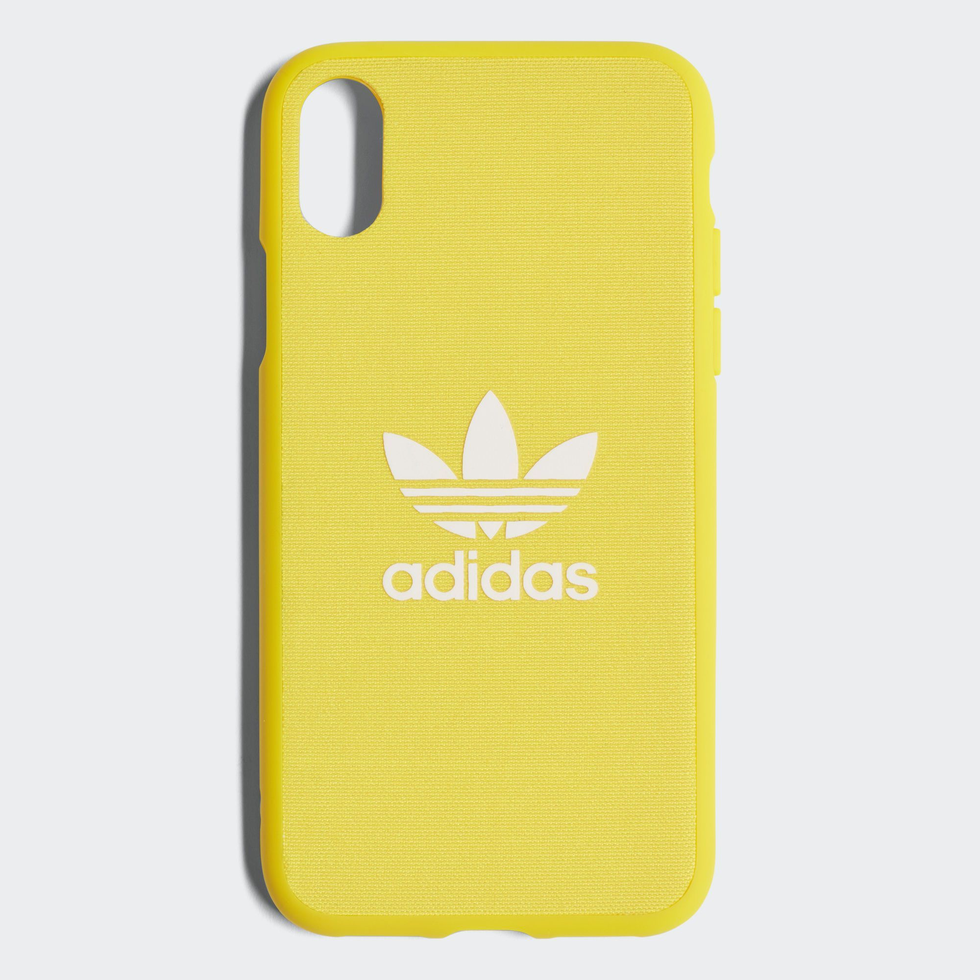 buy online 98536 c706e adidas Adicolor Snap Case iPhone X - Yellow   adidas US  iphone7plus