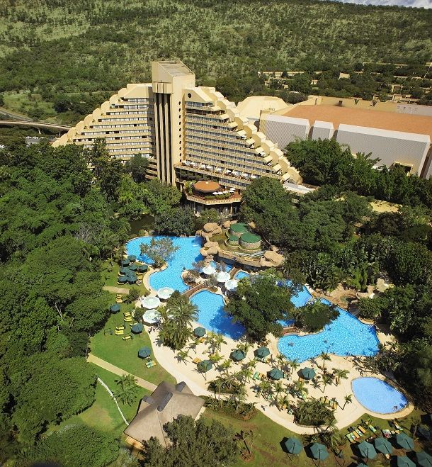 The Five Star Cascades Hotel Which Is Located At Magnificent Sun City Resort In North West Province Of South Africa Lots Good Memories This