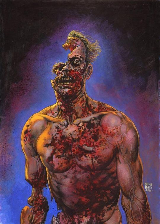 Comic Art by Glenn Fabry