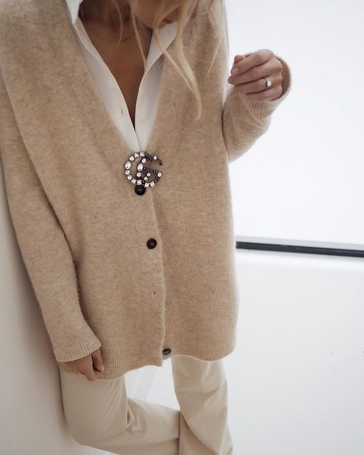 Pin by StylewithClass on Timeless Style   Beige outfit ...