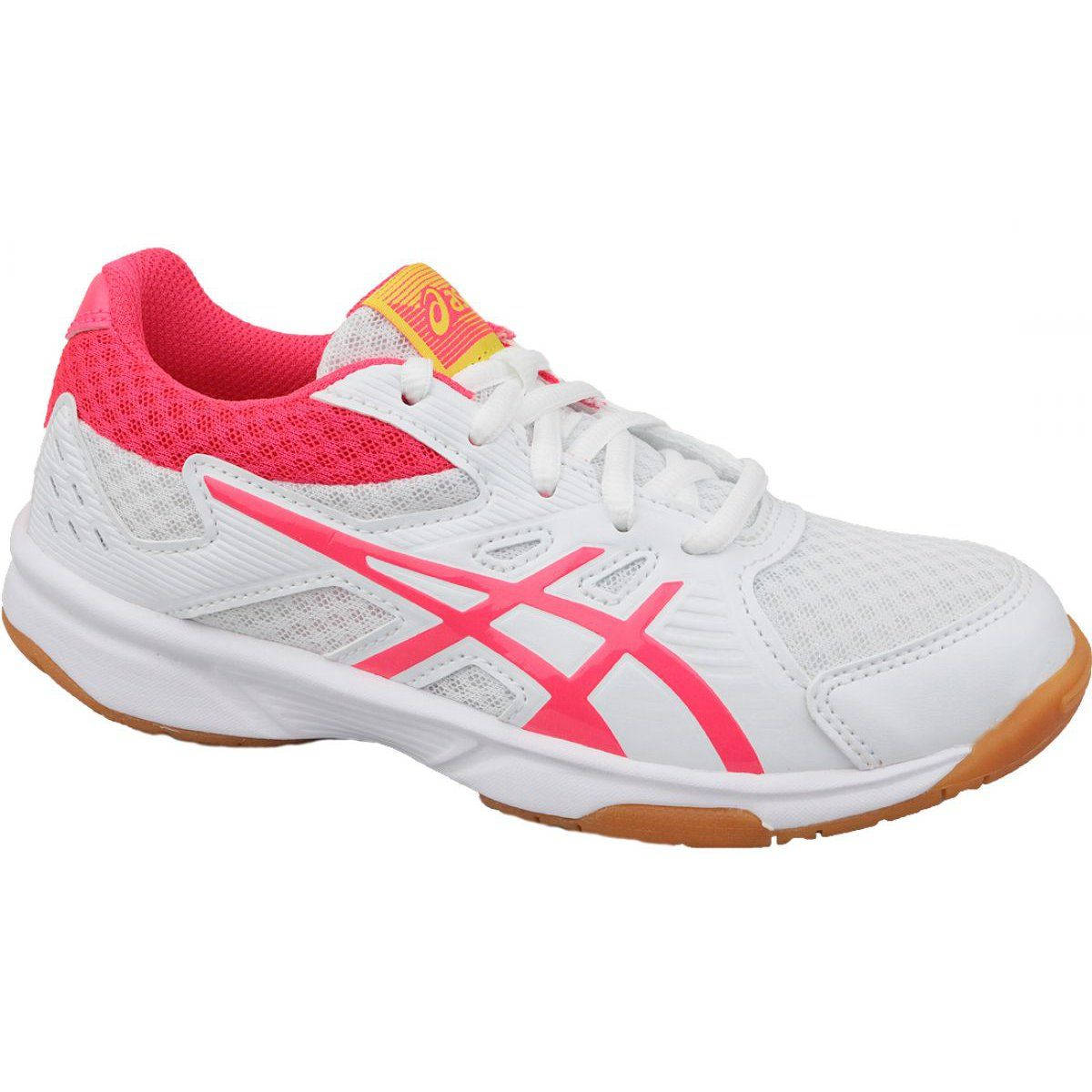 Volleyball Shoes Asics Upcourt 3 Gs Jr 1074a005 104 White White Volleyball Shoes Asics Volleyball