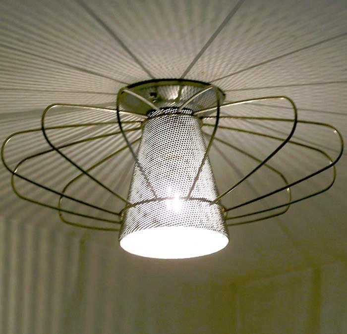 Dynamic Mid Century Ceiling Lamp Light Fixture Vintage Retro Eames 50s 60 S Lightolier Mid Century Ceiling Lamp Light Fixtures Ceiling Lamp