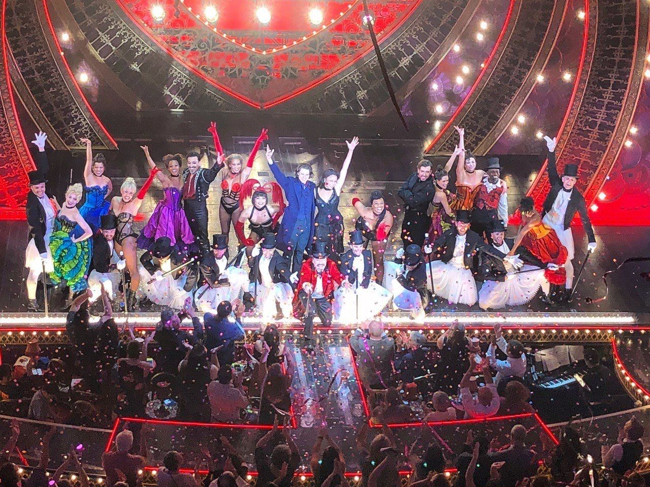 Moulin Rouge Curtain Call At The Word Premiere In Boston Moulin