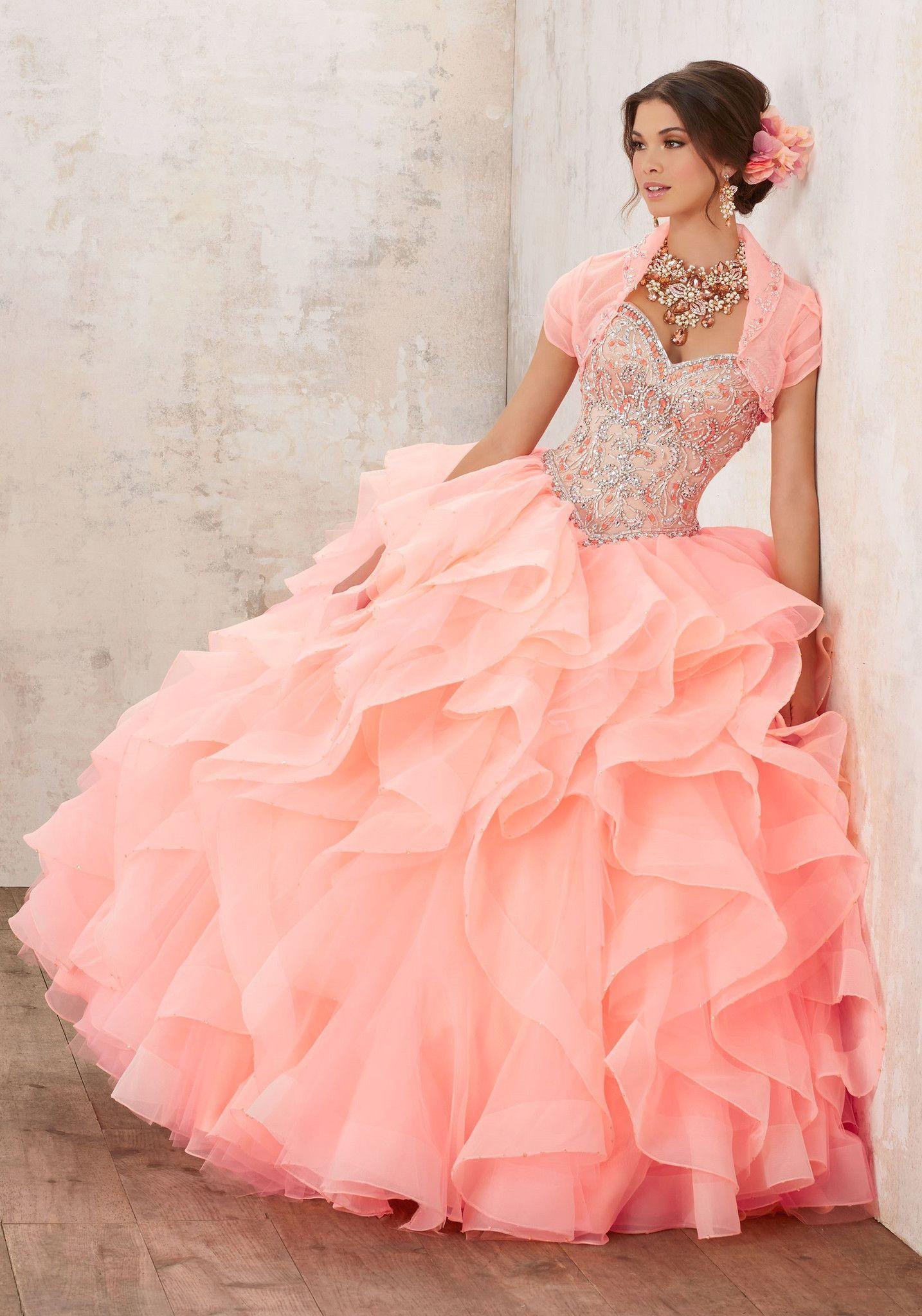 Famoso Vestido De Fiesta Sirena Lee Mori Colección - Colección de ...