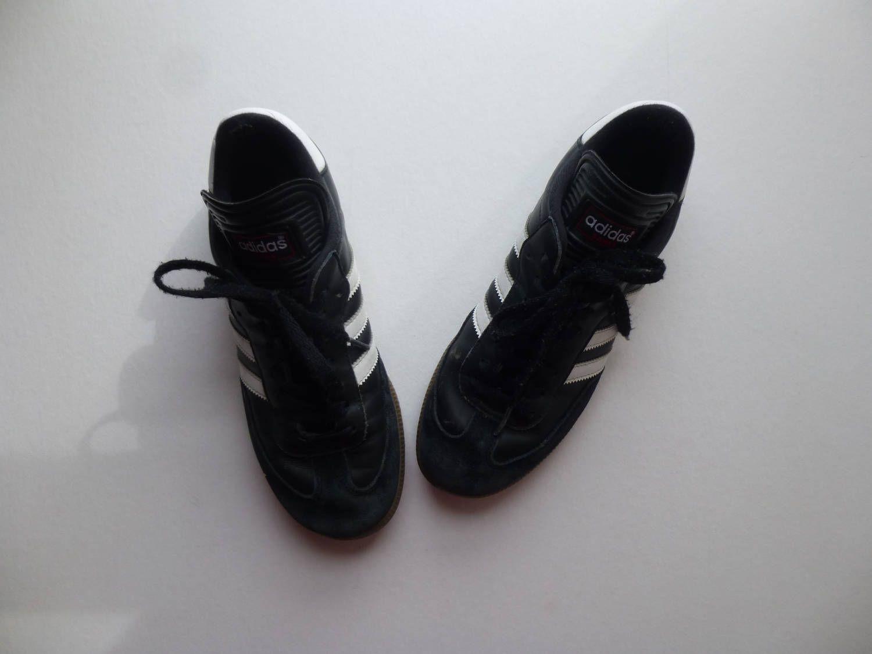 black leather samba
