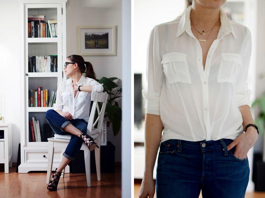 Perfect white shirt