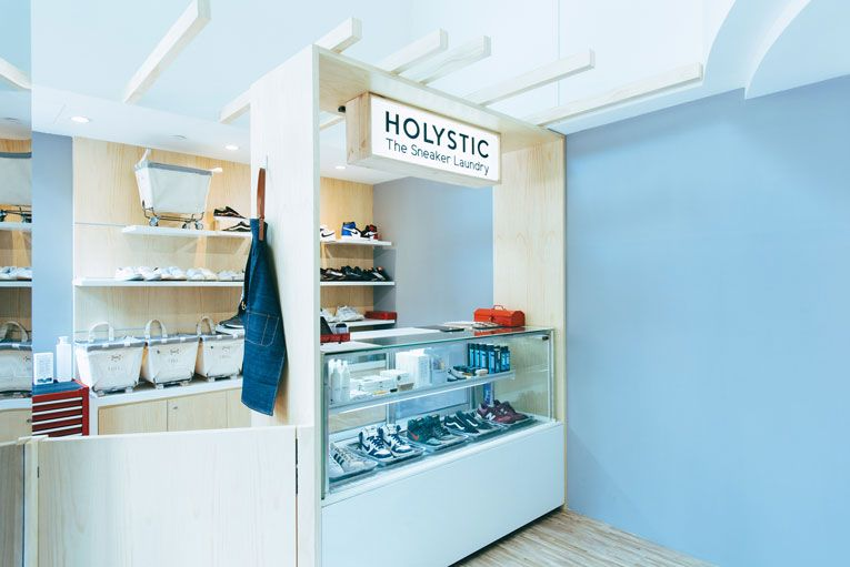 Singapore Holystic Sneaker Laundry Opening