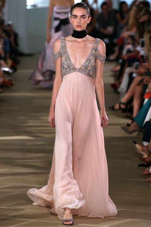 Monique Lhuillier | New York Fashion Week | Spring 2017 | gowns ...