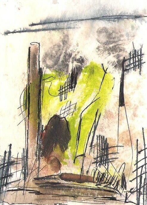 No. 30015  ACEO Art Cards Editions & Originals Fantasy Landscape by NoRaHzArT #A…
