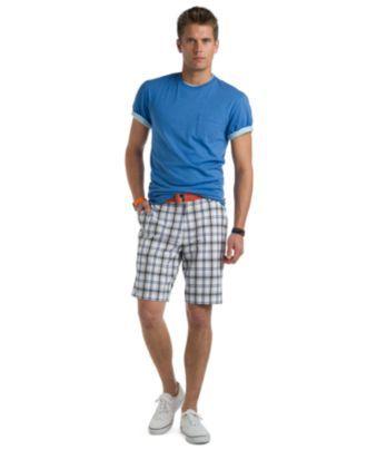 b08daa54 Izod T Shirt and Izod Plaid Shorts - Mens SALE & CLEARANCE - Macy's ...