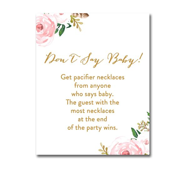 photograph about Free Don't Say Baby Printable titled Cost-free Printable Little one Shower Attractive Red Watercolor Bouquets
